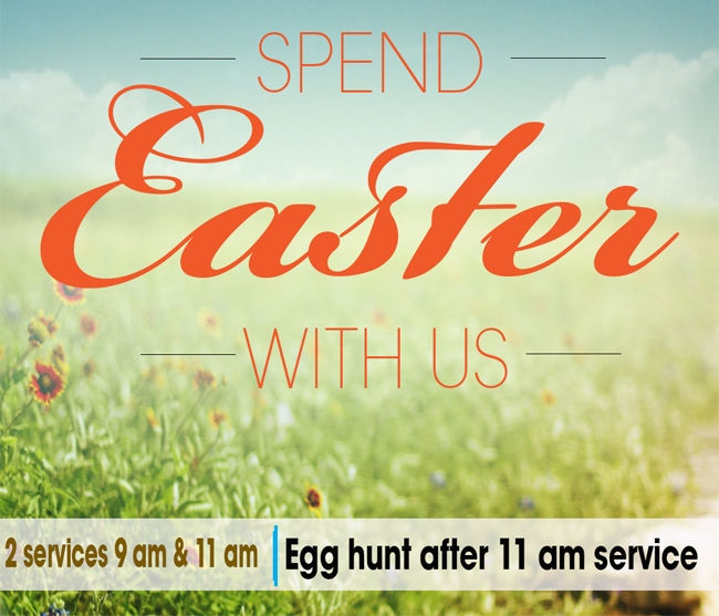 Spend Easter With Us